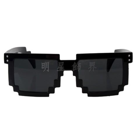 | Star World。Sunglasses |  韓國最新流行時尚 B.A.P Zelo 容國 力燦 大賢 永才 鐘業  MBLAQ Mir 同款馬賽克鏡架造型太陽眼鏡墨鏡