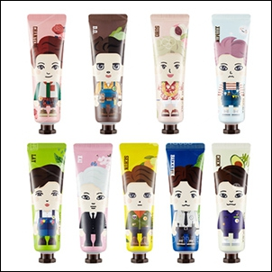 EXO Nature Republic 公仔天然護手霜 30ml