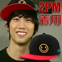 | Star World。Caps |  2PM 玉澤演 同款嘻哈風格小微笑棒球帽