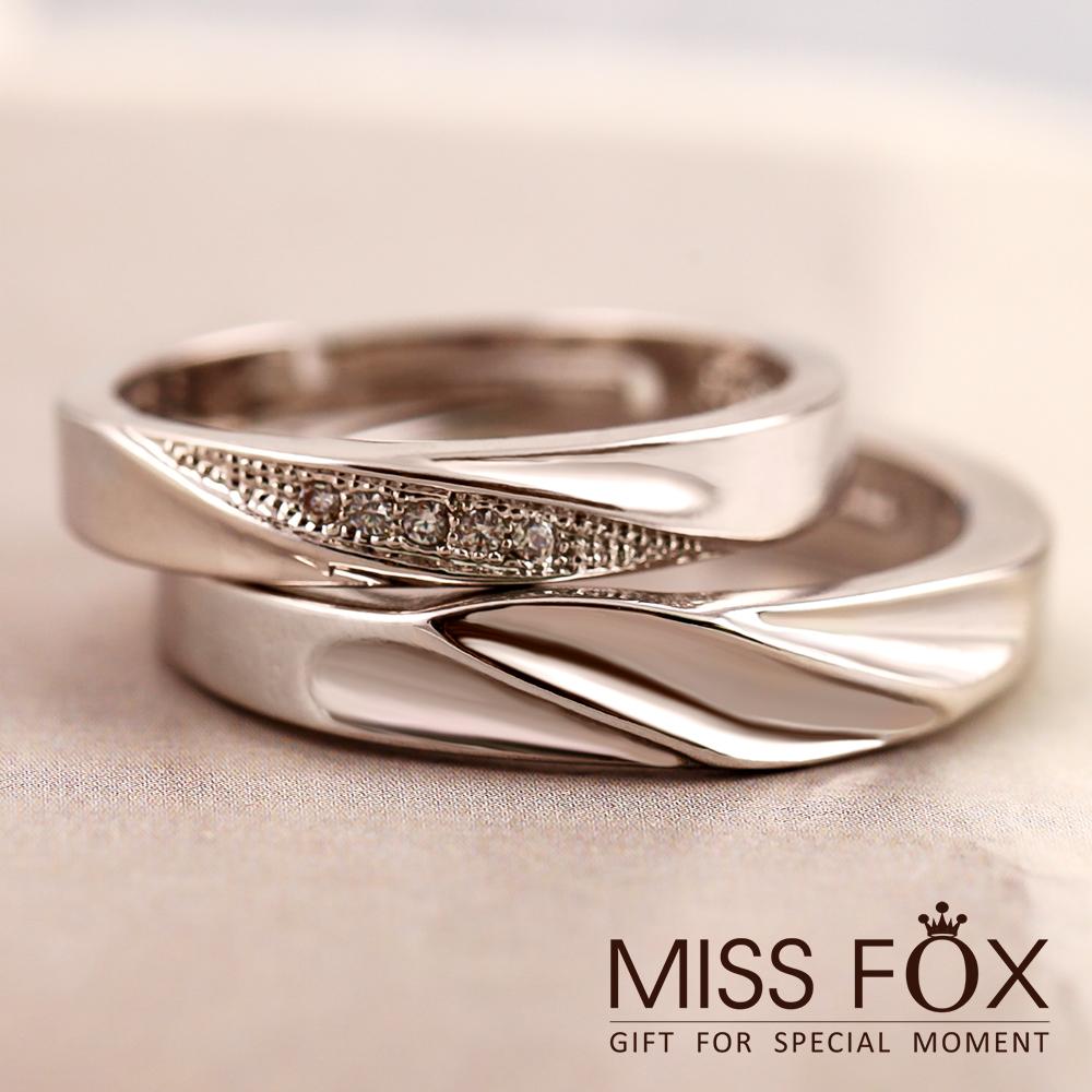 限時5折 情侶對戒 注定糾纏 扭紋戒指 JJ1196
