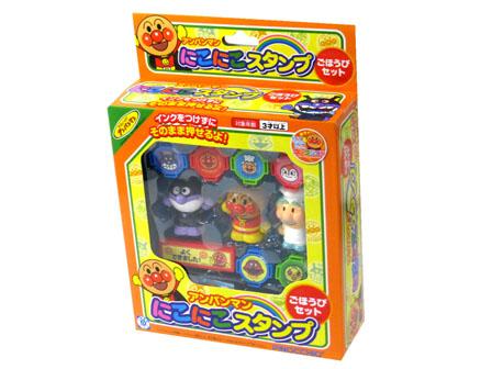 日本 ANPANMAN 麵包超人 印章 玩偶玩具組 *夏日微風*