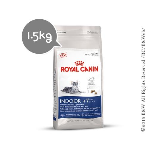 Royal Canin 法國皇家 室內熟齡貓 IN7+ / IN+7 1.5kg/1.5公斤  (原M27)