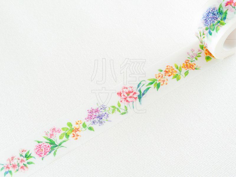 *小徑文化* | 台灣原創紙膠帶 | Bonnie House 手繪 - 花語