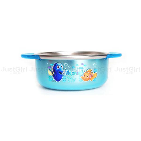 迪士尼 海底總動員 多莉尼莫 碗 兒童碗 湯碗 304不鏽鋼280ml 餐具 韓國製造進口 * JustGirl *