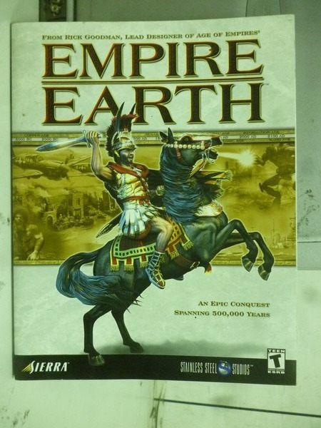 【書寶二手書╱電玩攻略_ZCL】EMPIRE EARTH_2001年