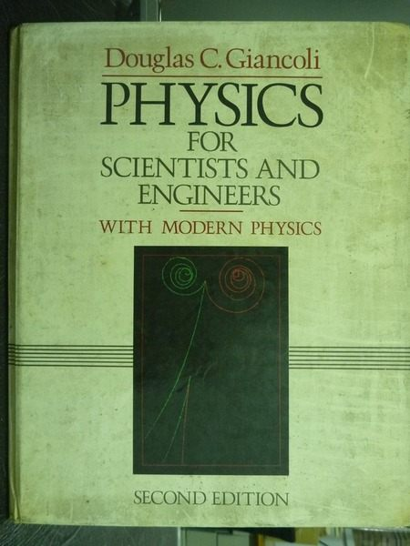【書寶二手書T2╱大學理工醫_QEI】Physics for Scientists and Engineers_Doug