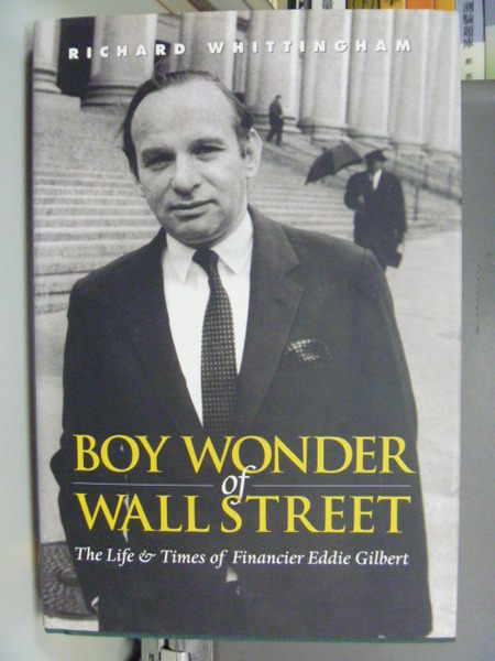 【書寶二手書T4/傳記_QEF】Boy Wonder of Wall Street:The Life&Times_Ric
