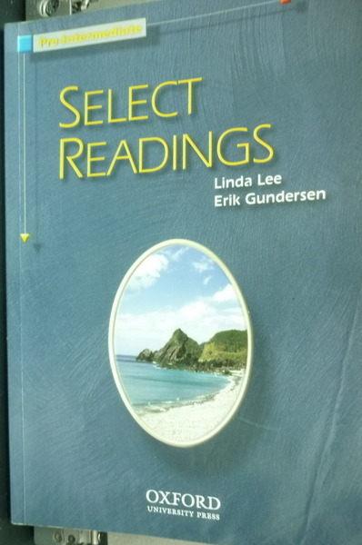 【書寶二手書╱語言學習_QCS】Select Readings Pre-int_Not Available (NA)