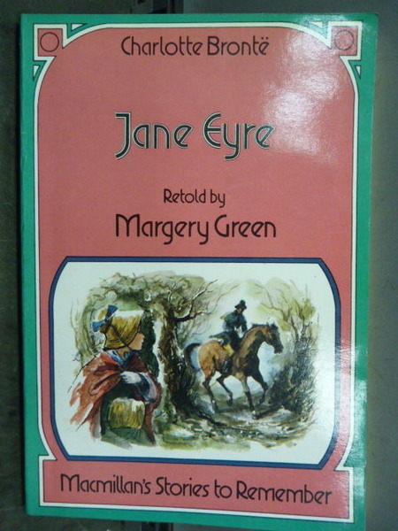 【書寶二手書S1╱原文小說_GAO】Jane Eyre_Margery Green_1991年