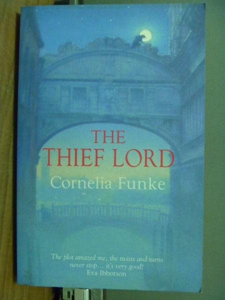 【書寶二手書T5╱原文小說_JFF】Thief Lord_Cornelia Funke