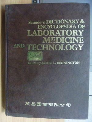 【書寶二手書T2/大學理工醫_XHA】Dictionary Encyclopedia of Laboratory Med
