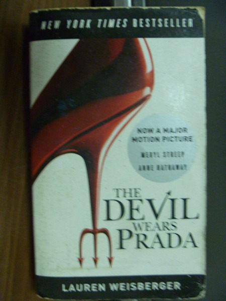【書寶二手書T1╱一般小說_NPB】The Devil Wears Prada_Lauren Weisberger