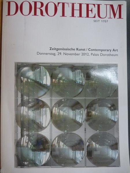 【書寶二手書T6/收藏_QIR】Dorotheum_Zeitgenssische Kunst_29 Nov 2012