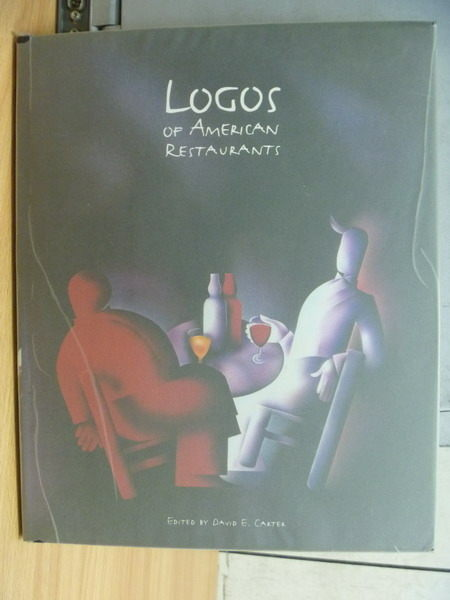 【書寶二手書T6/設計_ZHM】Logos of Amercian Restaurant_David E Carter