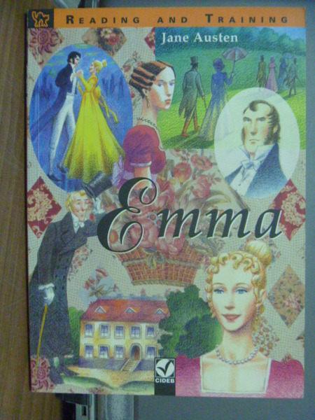 【書寶二手書T1╱語言學習_KHA】Emma Book_Austen Jane