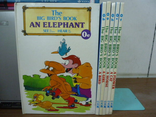 【書寶二手書T7/少年童書_YIS】The Big Birds Book_An Elephant_A Bird等_6本合