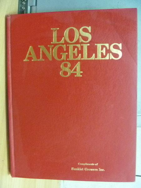 【書寶二手書T3/體育_ZFZ】Los Angeles_1984年
