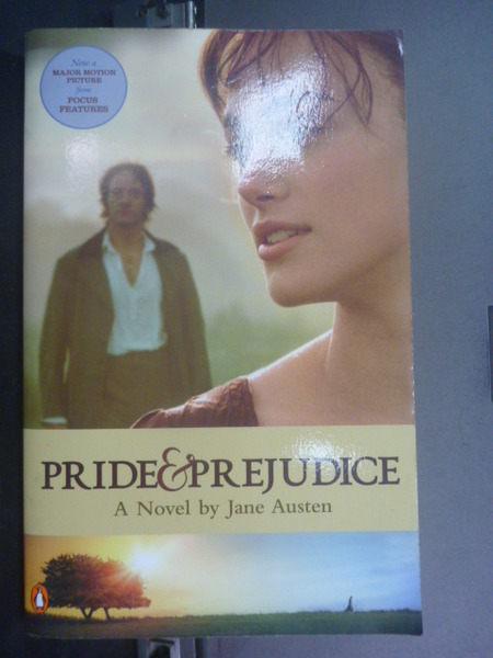 【書寶二手書T1╱原文小說_IKP】Pride and Prejudice (movie tie-in)_Jane Austen