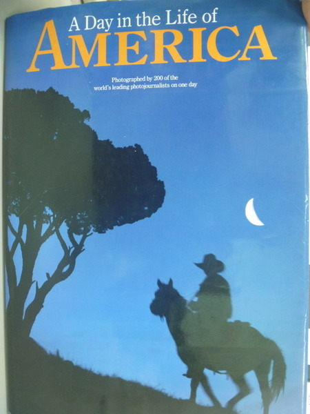 【書寶二手書T7/地理_XHC】A Day in the Life of America_Rick Smolan