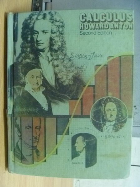 【書寶二手書T6/大學理工醫_ZDR】Calculus Howard Anton_1984年