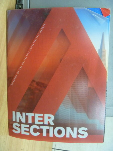 【書寶二手書T4/攝影_XFH】Inter Sections_Academy of Art University