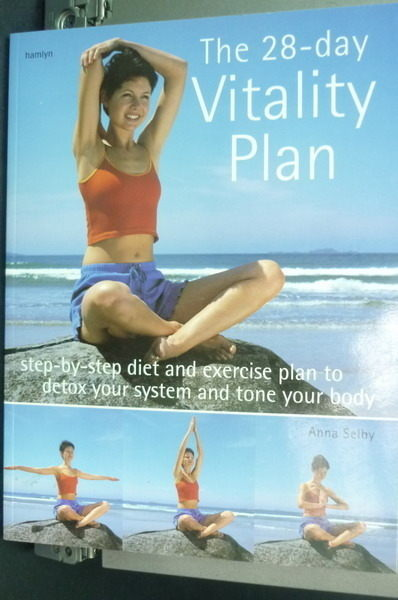 【書寶二手書T6╱美容_PCU】The 28 day Vitality Plan_Anna Selby