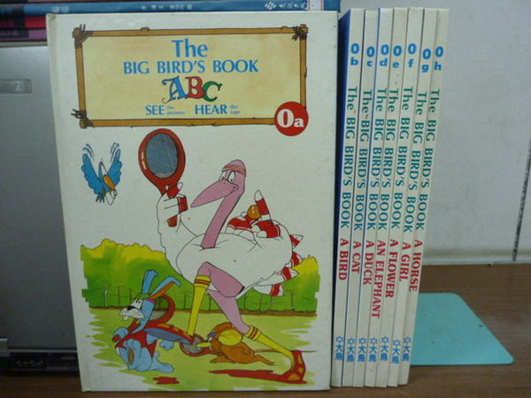 【書寶二手書T9/少年童書_YCV】The Big Birds Book_0a~0h集_8本合售_A Cat_A Gir