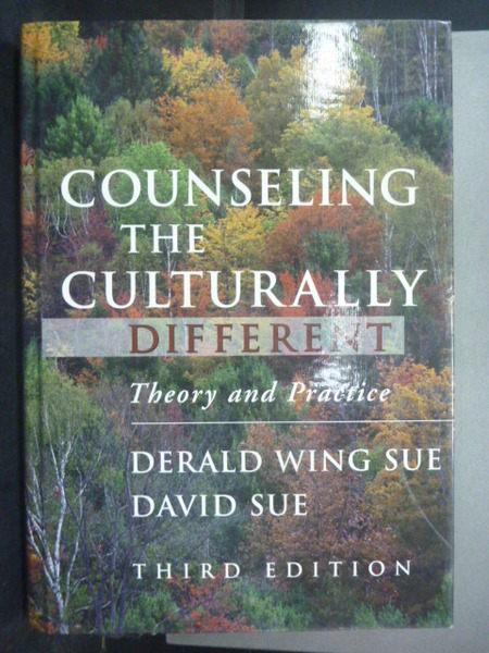 【書寶二手書T5/大學理工醫_WDR】Counseling the Culturally Different: Theo