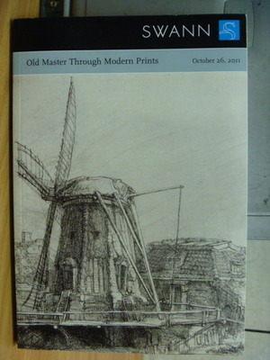 【書寶二手書T9/收藏_YCS】Old Master Through Modern Prints_2011/10月_SW