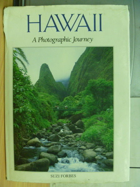 【書寶二手書T7/攝影_XGI】Hawaii_a photographic journey