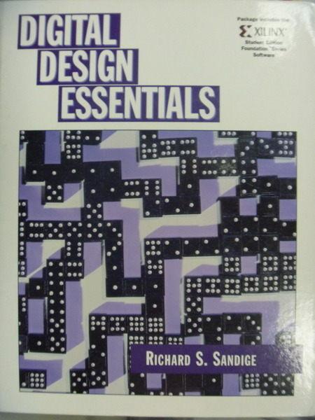 【書寶二手書T7/大學資訊_QCY】Digital Design Essentials_Richard S. Sandi