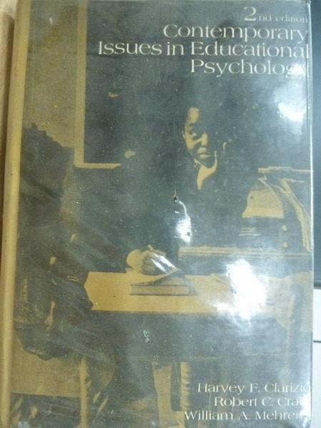 【書寶二手書T8/心理_MNU】Contemporary lssues in Educational Psycholog