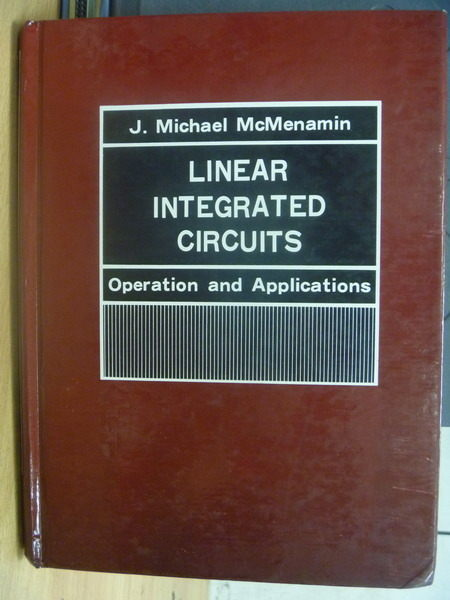 【書寶二手書T4/大學理工醫_WEE】Linear integrated circuits_J Michael