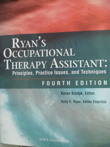 【書寶二手書T2/大學理工醫_QFW】Ryans Occupational Therapy Assistant_4/E
