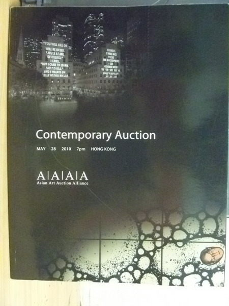 【書寶二手書T8/收藏_YAX】AAAA_Contemporary Auction_2010.05.28