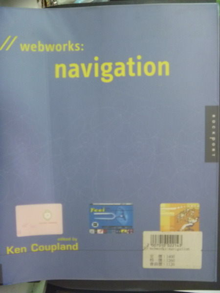 【書寶二手書T5/大學資訊_QLI】Webworks : navigation_DANIELSON, RICHARD/
