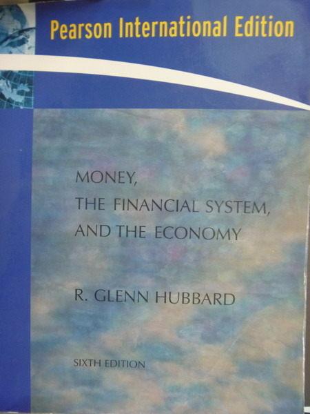【書寶二手書T9/大學商學_QLE】Money, the Financial System and the Econom