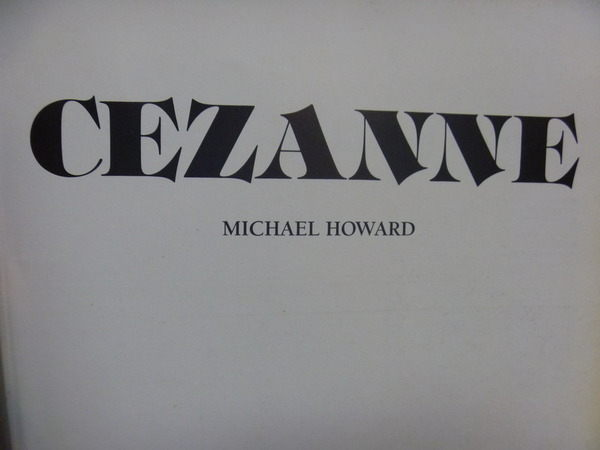 【書寶二手書T5/藝術_XGA】Cezanne_Michael howard