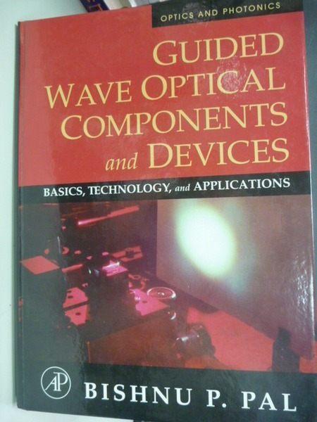 【書寶二手書T3/大學理工醫_YAG】Guided Wave Optical Components and Device
