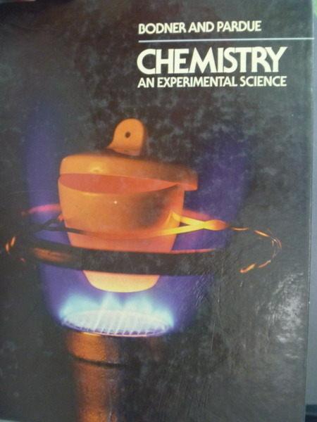 【書寶二手書T4/大學理工醫_QLC】Chemistry, an experimental science_George