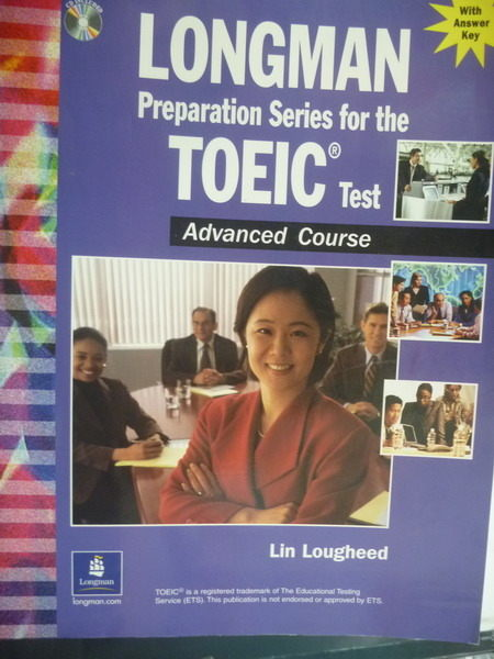 【書寶二手書T7/語言學習_ZBR】Longman Preparation Series for the TOEIC T