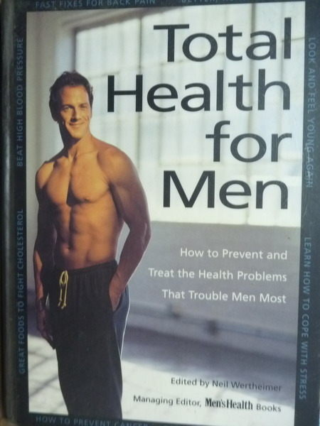 【書寶二手書T4/養生_QLH】Total health for men_Neil Wertheimer._英文書