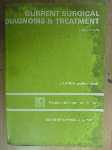 【書寶二手書T5/大學理工醫_WDC】Current Surgical Diagnosis…_1988年