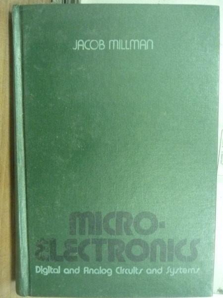 【書寶二手書T8/大學理工醫_YFR】Micro.Electronics_Jacob Millman