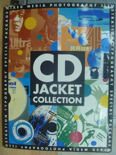 【書寶二手書T5/設計_WFD】CD Jacket Collection_CD封面設計集_1991年