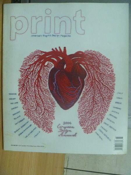 【書寶二手書T2/繪本_WFC】Print_LVIII:III_May/June 2004