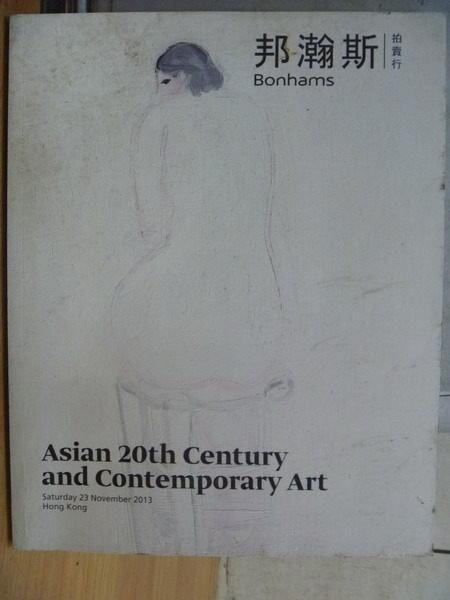 【書寶二手書T6/收藏_XAO】邦瀚斯拍賣_Asian 20th Century and Contemporary Ar