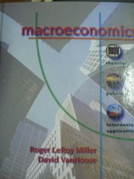 【書寶二手書T9/大學商學_PFV】Macroeconomics_Miller , VanHoose_附光碟_原文書
