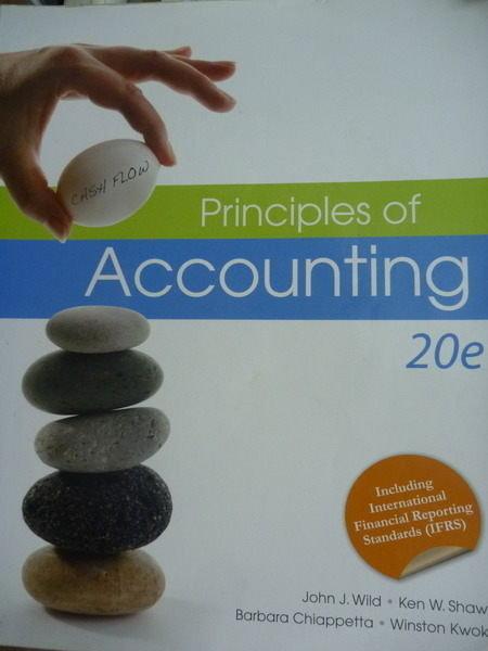 【書寶二手書T7/大學商學_PLR】Principles of Accounting_Wild,Shaw,Chiappe