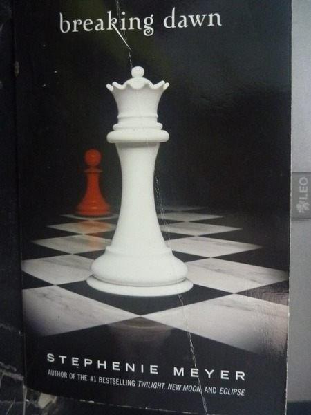【書寶二手書T3/原文小說_JME】Breaking Dawn 暮光之城系列4部曲_Meyer, Stephenie